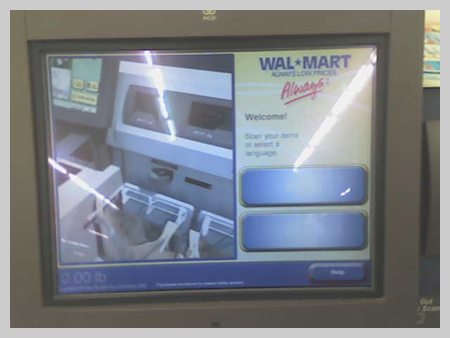 Self-Checkout at Wal-Mart 1
