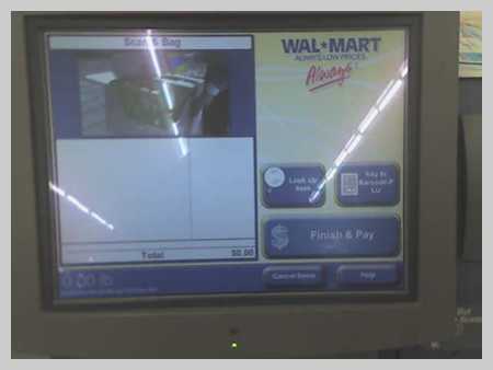 Self-Checkout at Wal-Mart 2