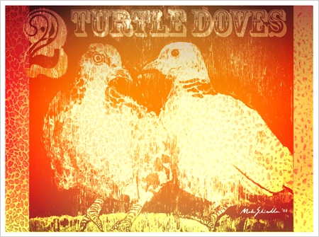 Click to view 2 Turtle Doves closer